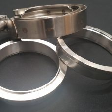 304 Stainless Steel V-Band Kit (Male & Female Flanges plus Clamp)