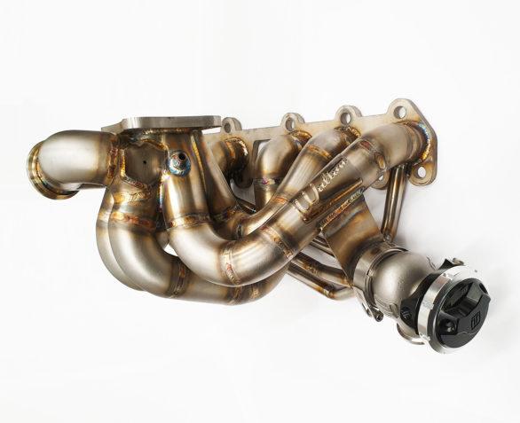 Walton Motorsport Toyota 2JZ Turbo Manifold T4 Twinscroll (Type A T4 Twinscroll WG50 Anti Lag)