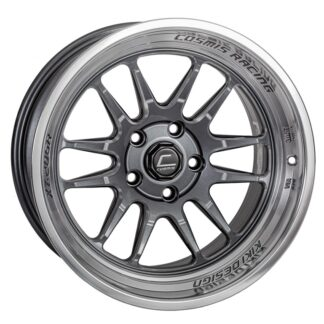 Cosmis Wheels XT206R Gunmetal