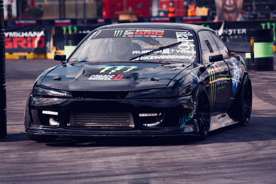 Luke Woodham Gymkhana Grid Champion