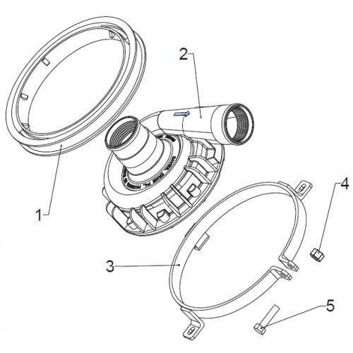Davies Craig EWP alloy pump – mounting kit