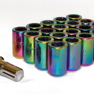 Tuner Wheels Nuts Neochrome