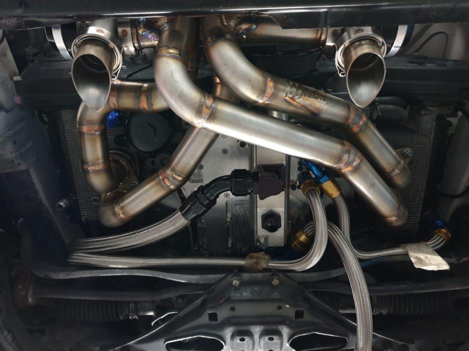Subaru Impreza manifold Haroon