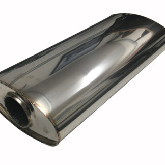 8x4 304 Stainless Steel Silencer