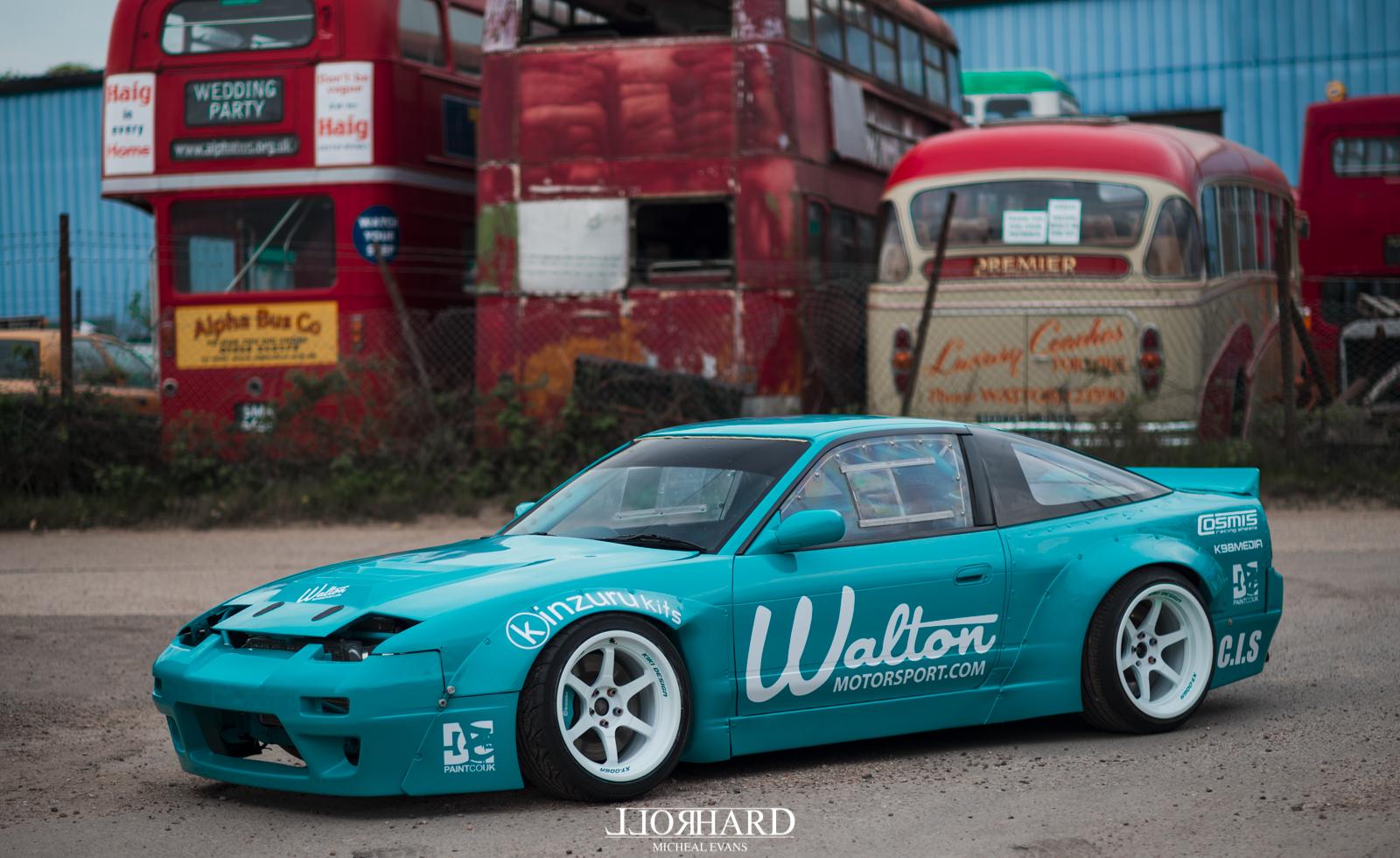 Walton Motorsport Nissan 180sx S13 on Cosmis XT-006r
