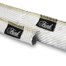 Funk Motorsport Silver Carbon Fibre Sleeving (Sewn)