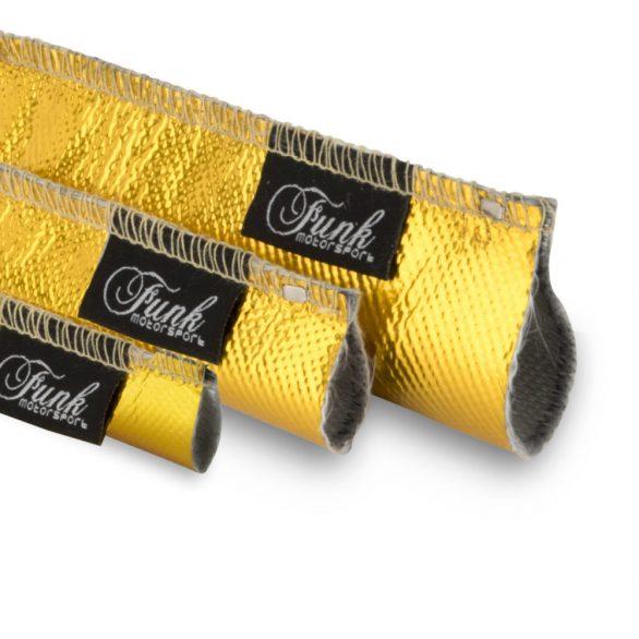 Funk Motorsport Gold Heat Sleeving (sewn)