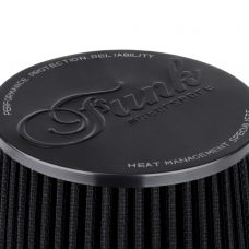 "Funk Motorsport 3"" Black Cone Performance Air Filter (Universal)"
