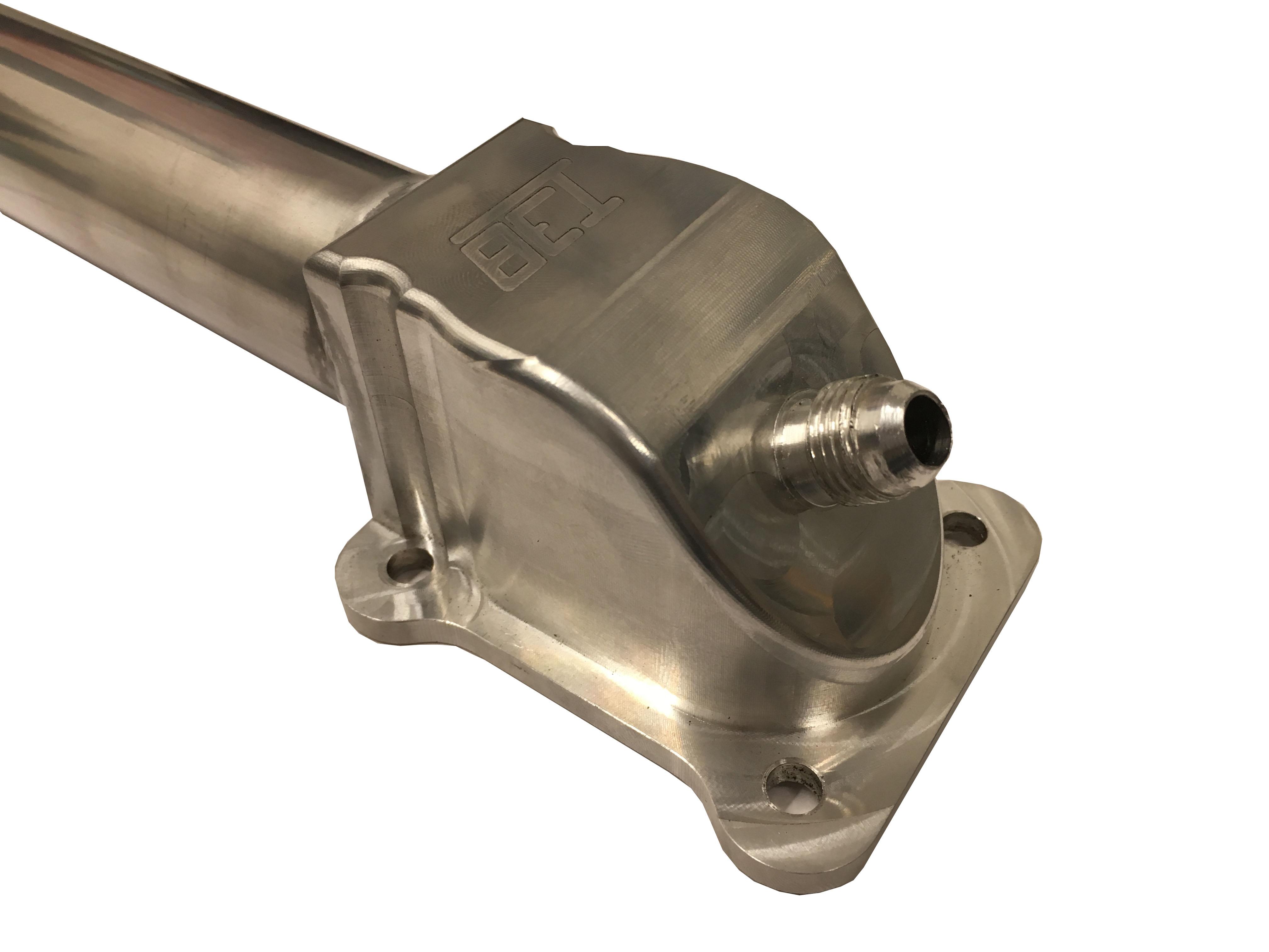 N54 Single Turbo Water Pipe