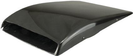 OBP Black GRP Air Intake Roof Vent (Two Piece)