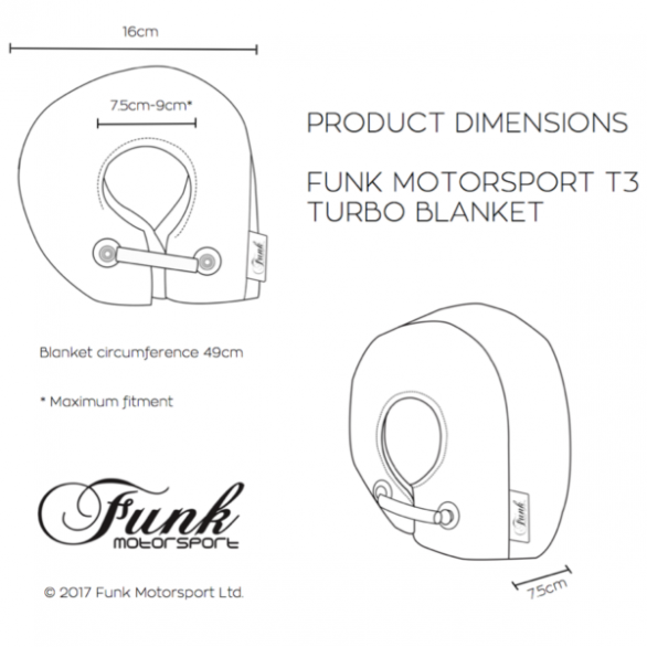Funk Motorsport T3 Turbo Blanket Jacket