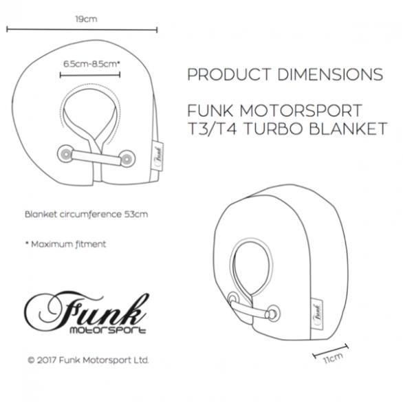 Funk Motorsport T3/4 Turbo Blanket Jacket