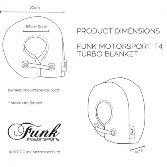 Funk Motorsport T4 Turbo Blanket Jacket