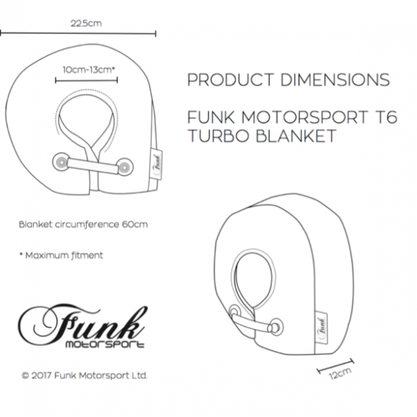 Funk Motorsport T6 Turbo Blanket Jacket