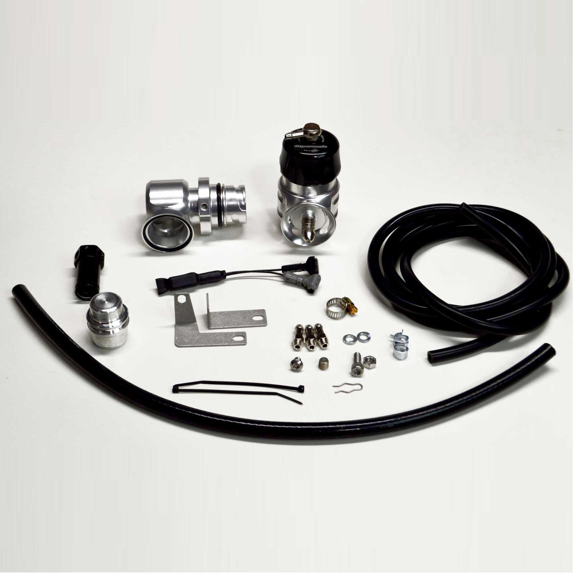 Turbosmart BOV Smart PortSupersonic Ford F150 2015+ 3.5L & 2.7L Ecoboost / Raptor EcoBoost - Black