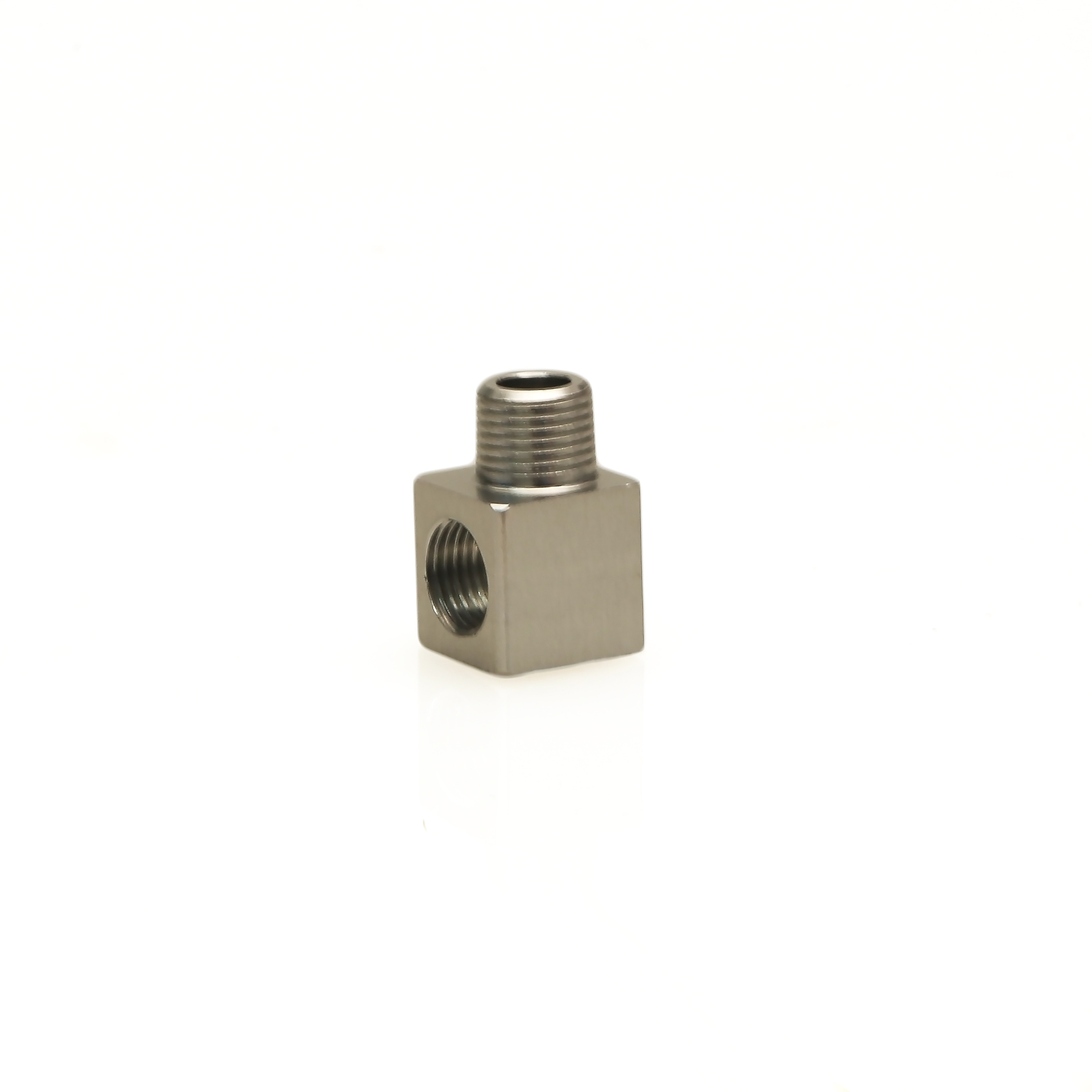Turbosmart FPR 1/8 NPT Male - 1/8 NPT Female 90° Fitting