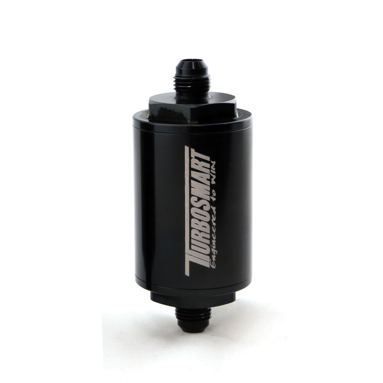 Turbosmart FPR Billet Fuel Filter 10um AN-6 - Black