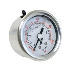 Turbosmart FPR Gauge 0-100psi - Liquid Filled