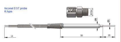 ECU Master EGT k-type Thermocouple