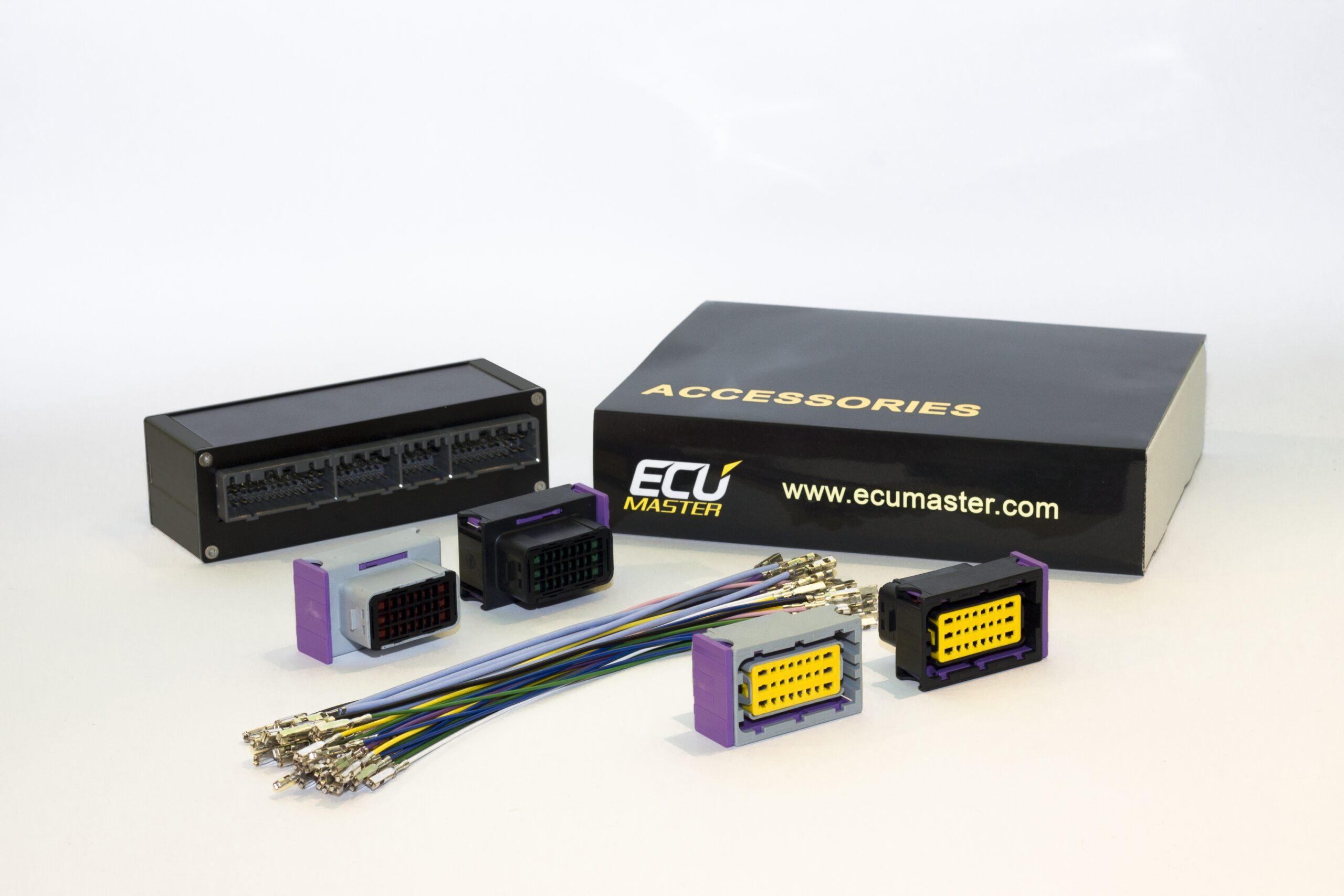 ECU Master Plug&Play Adaptor Loom - Mitsubishi Evo 8