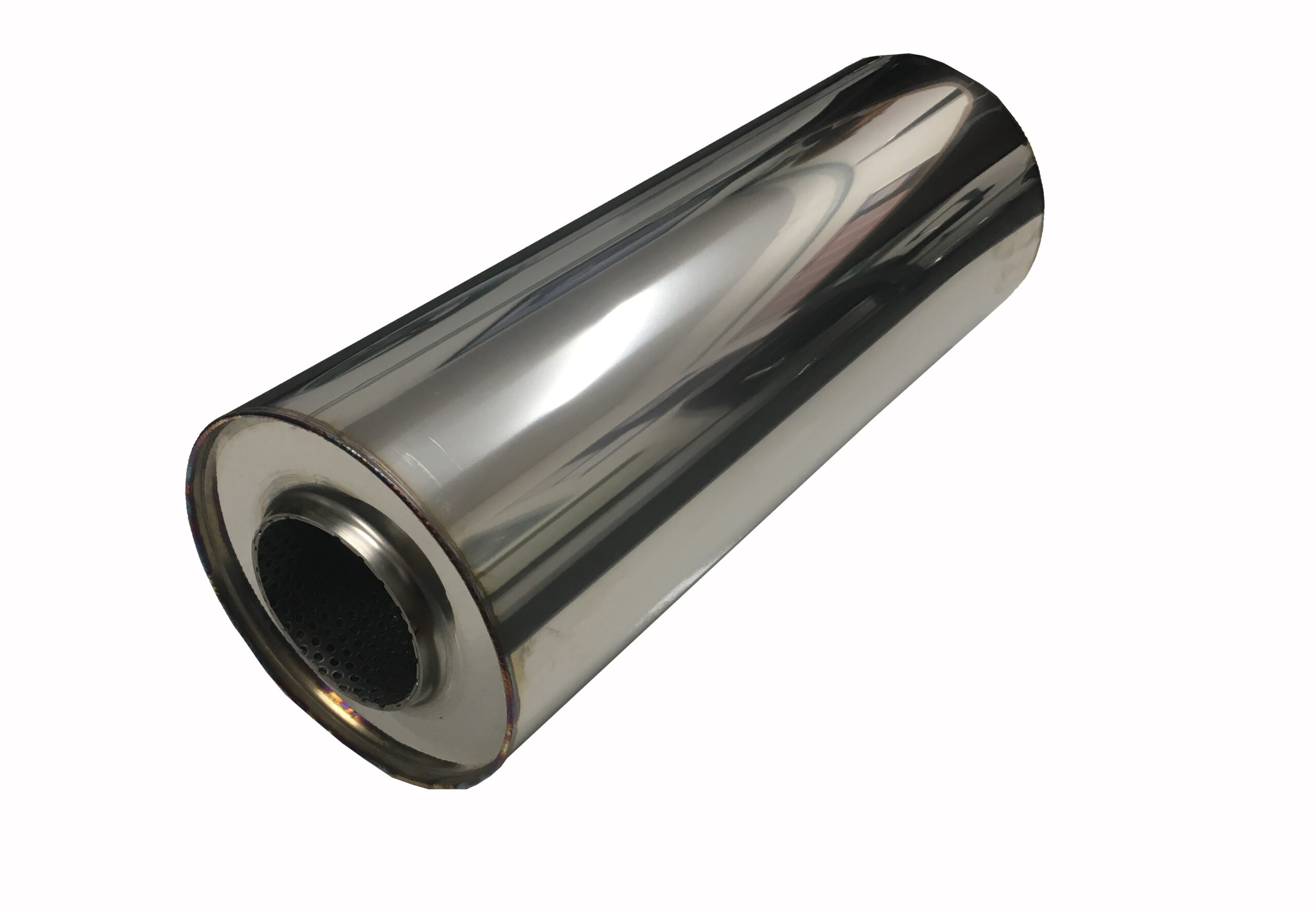 Round 304 Stainless Steel Silencer